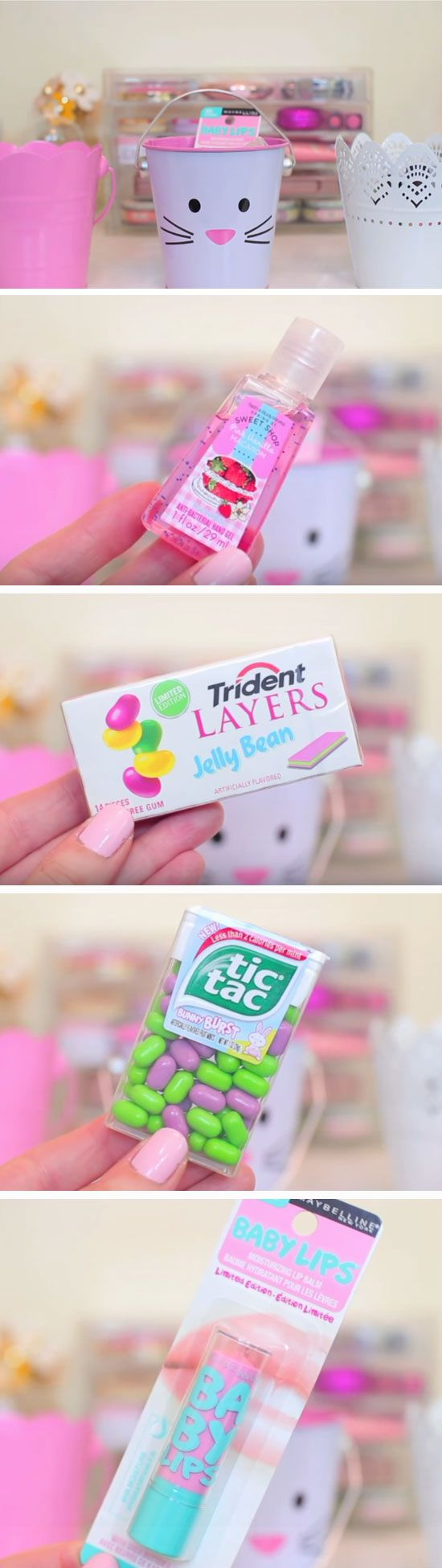 Cute Tins | Easy DIY Easter Basket Ideas for Teens | Easy Gift Ideas for Friends Birthday