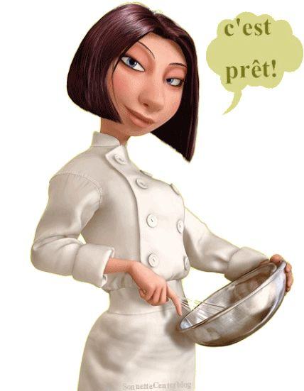 Ratatouille Chef Lady