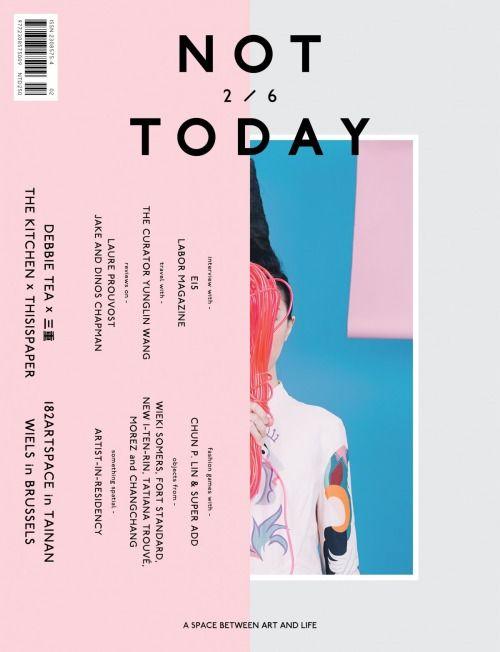 magazinewall:  Not Today (Taiwan)