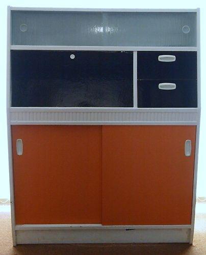 Vintage Retro 1950's 1960's Kitchen Pantry Larder Cabinet