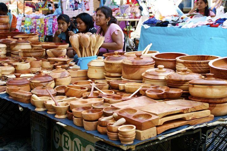 Weekend Market - woodwork