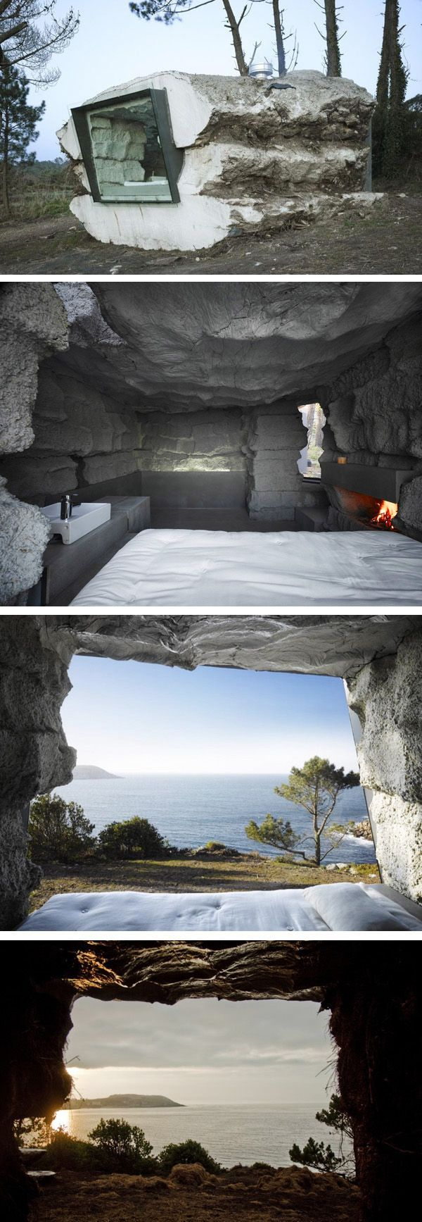 Truffle House. Proyecto de Ensamble Studio en Laxe, España.