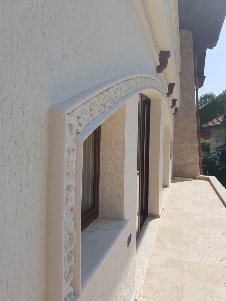 Ancadrament fereastra cu arcada din polistiren CoArtCo