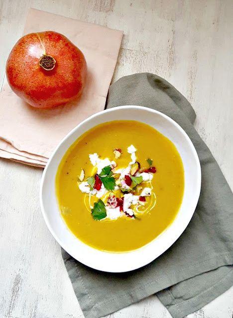 Very Easy...Kitchen: Soupe de butternut à la coco et d'autres petites c...