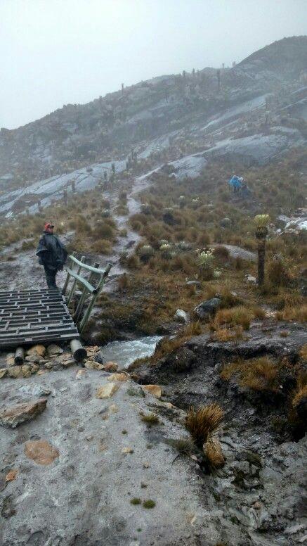 Nevado el Cocuy Guican de la Sierra -Boyacá una subida de 6 Horas -metas!!