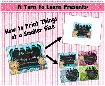 A Turn to Learn: How to Print Anything at a Smaller Size!