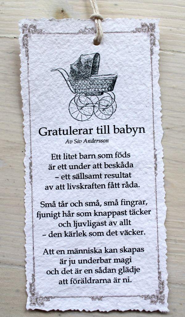grattis till babyn text Bildresultat för dop vers | Kärleksdikter m. m | Pinterest | Barn  grattis till babyn text