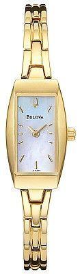 Bulova Women's Gold-Tone Watch 97L001