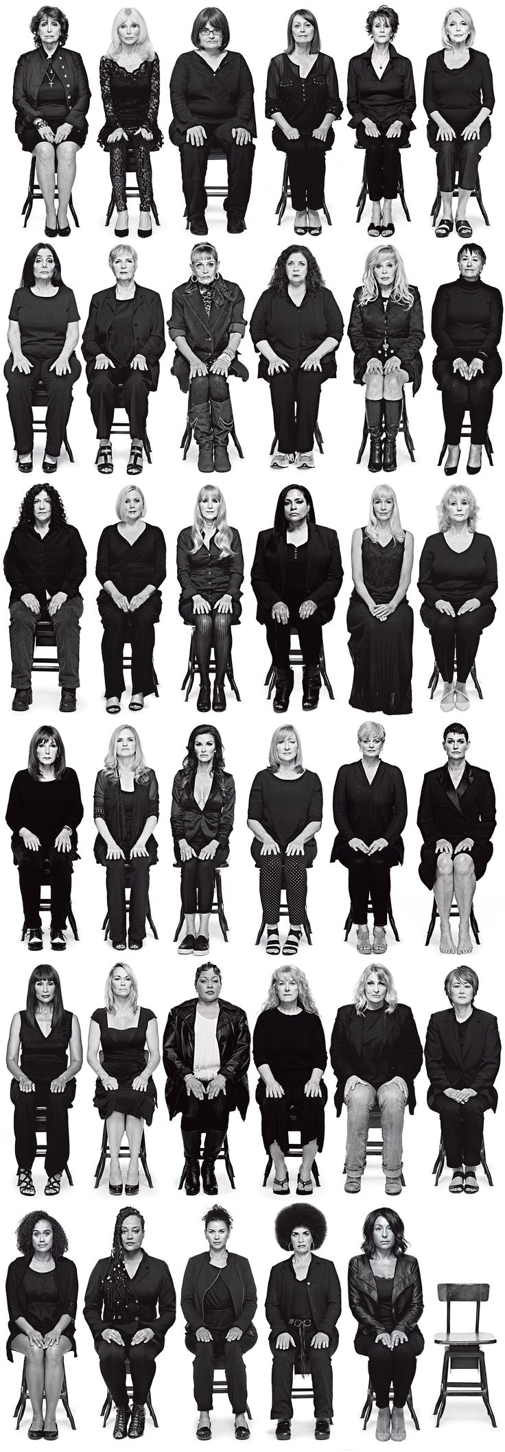 35 Bill Cosby Accusers Tell Their Stories --at once so sad, and so sickening.