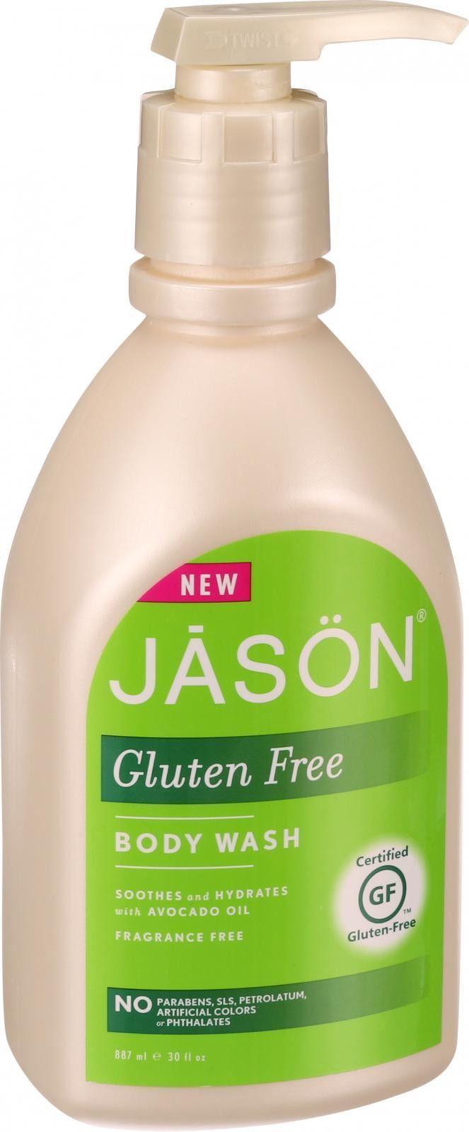 Jason Natural Products Body Wash - Gluten Free - Fragrance Free - 30 Oz