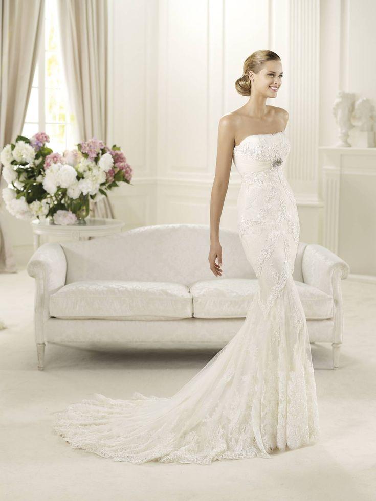 Dietrich esküvői ruha a Pronovias kollekció vintage stílusú sellőruhája! http://lamariee.hu/eskuvoi-ruha/pronovias/dietrich