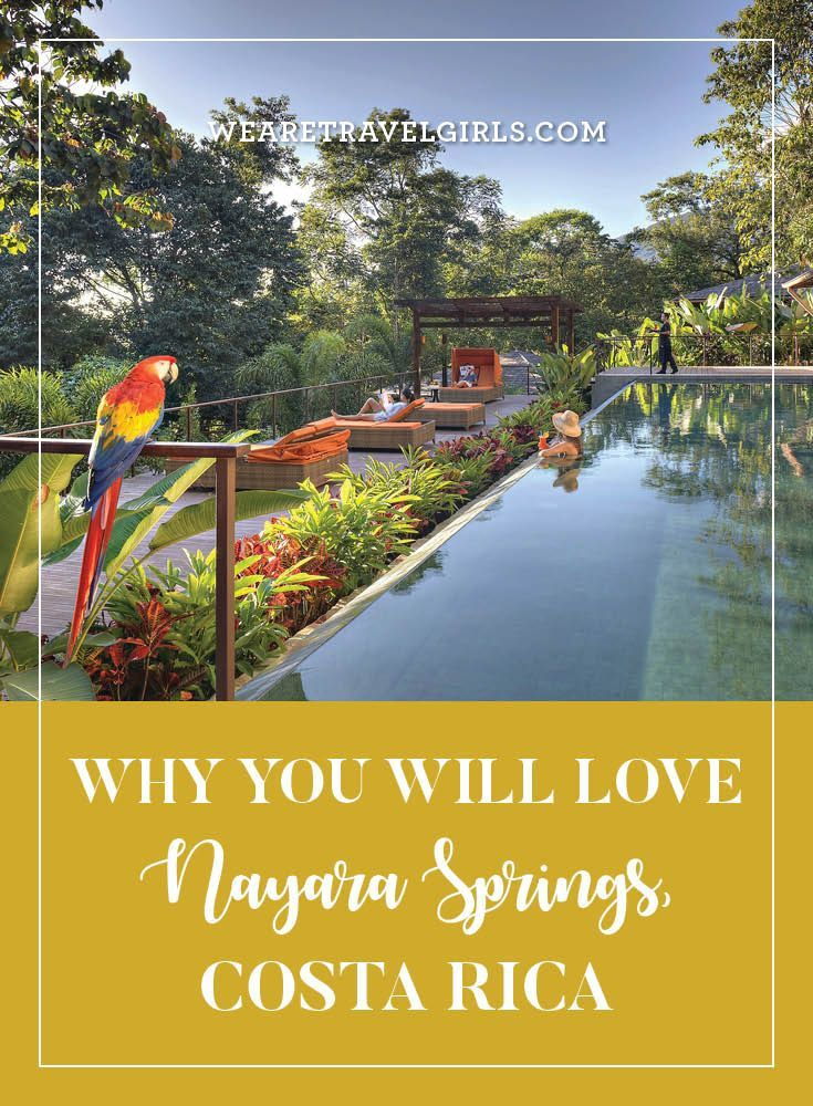 WHY YOU WILL LOVE NAYARA SPRINGS, COSTA RICA  Costa Rica is known for it's lush tropical rainforests, volcanoes, wildlife and vast range of adventure activities. A trip to this country offers so much, that it's hard to decide where to start, or where to stay! If you are looking for a luxury retreat, offering a tranquil place to relax after some volcano treks and white water rafting, then you should consider Nayara Springs. By We Are Travel Girls Contributor Sabrina Braber of…