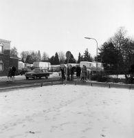 Jonkerweg 32 19-01-1969 Stalling Circus Strassburger gezien vanaf HBS http://zoeken.gooienvechthistorisch.nl/publiek/detail.aspx?xmldescid=55385946