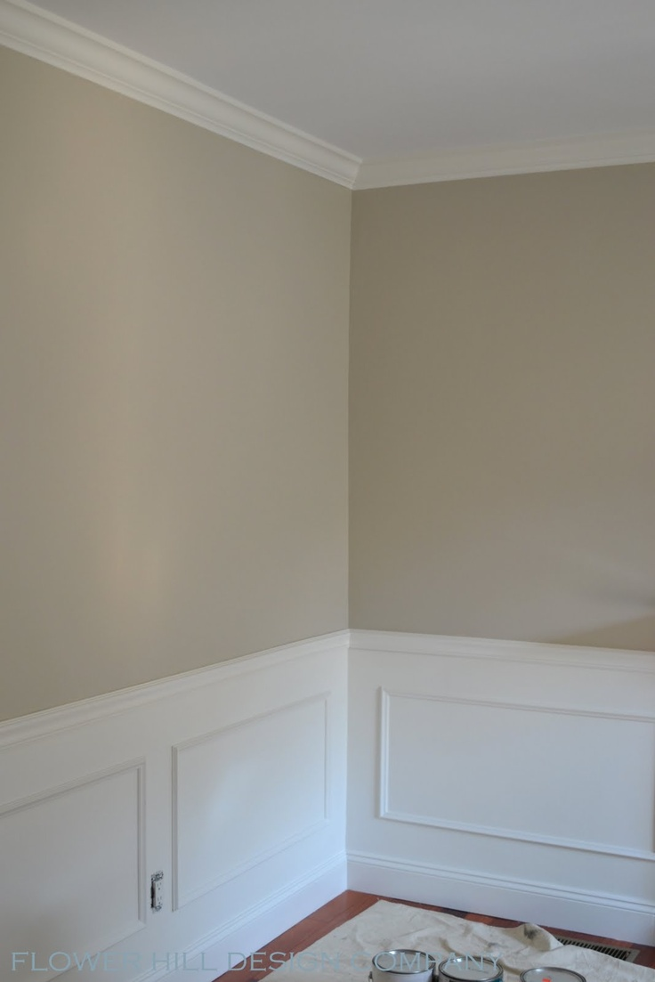 I Think Benjamin Moore S Revere Pewter Gray Is The Way To Go For The Common Room Dining Room