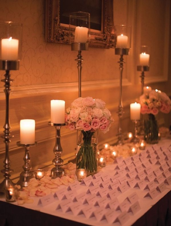 Wedding Ideas: Put Your Guests in Their Place with the Perfect Place Card Table. Visit www.modwedding.com for more inspiration!