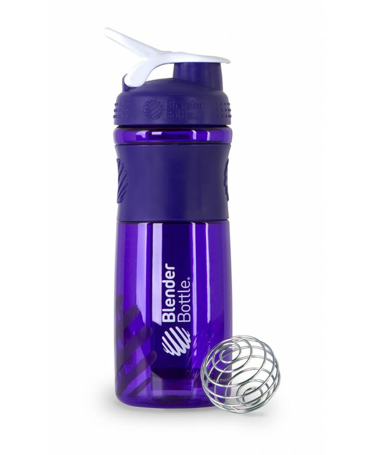 BlenderBottle SportMixer™ | Water Bottle and Shaker Cup Hybrid