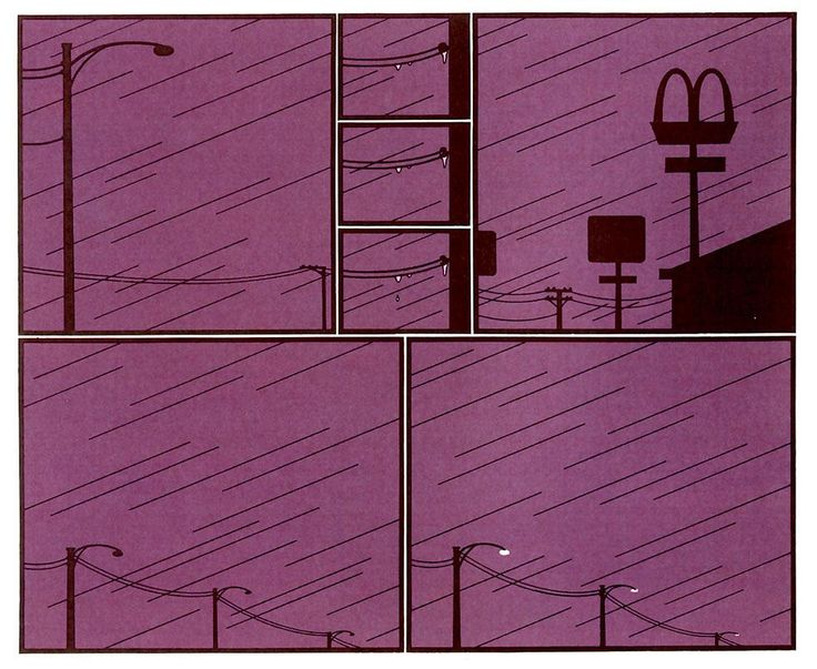 Chris Ware: jimmy corrigan emptiness (mcdonalds) book six page 32