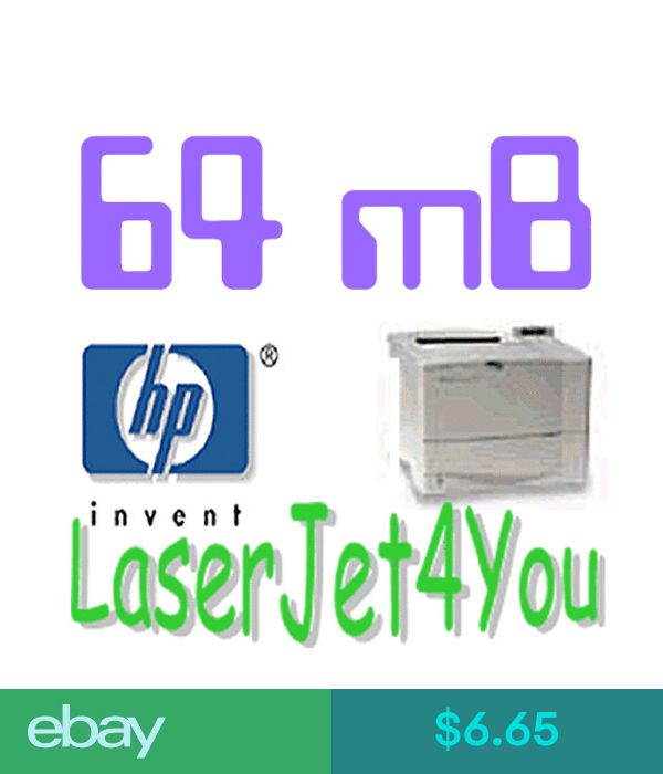 64MB HP LASERJET MEMORY 1300//2200//2300//4000//4050//4100//4200//4300//5000//5100 NEW