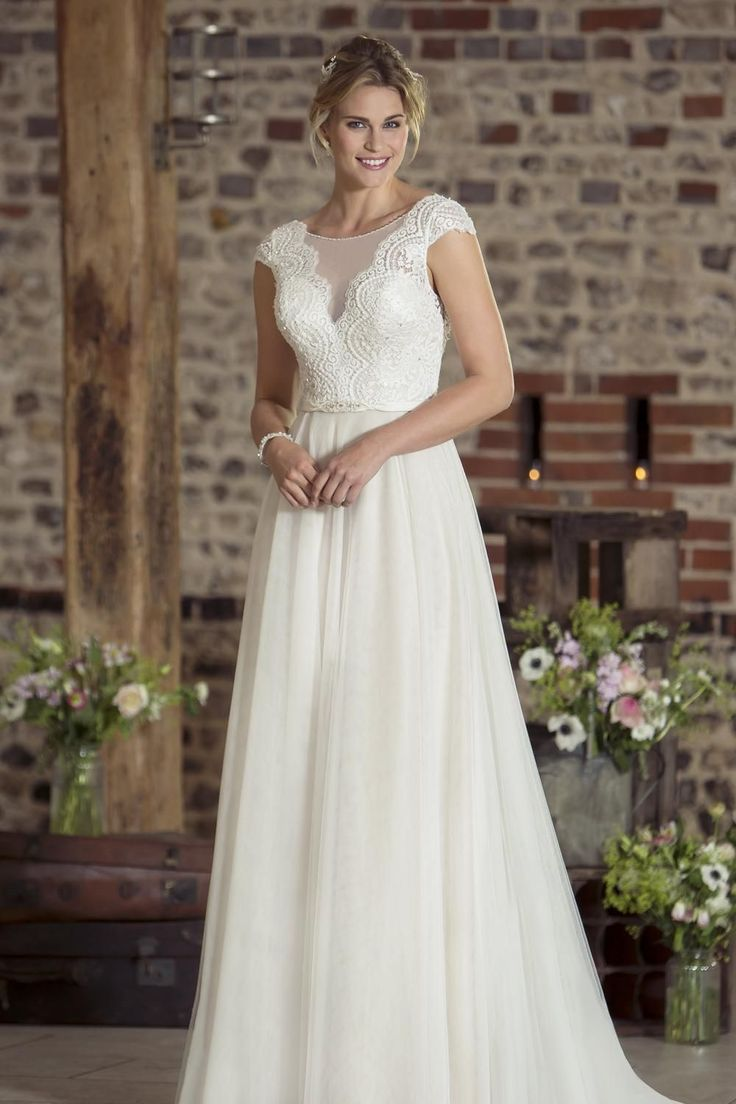 Contemporary Wedding Dresses and Vintage Inspired Bridal Gowns | W228 | True Bride