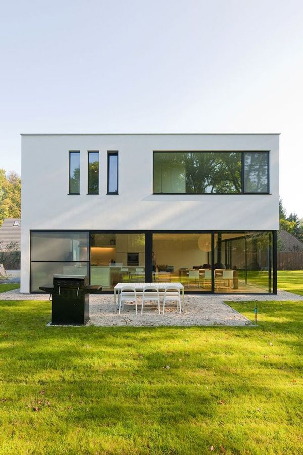 House G in Schoten by Nelva Architecten
