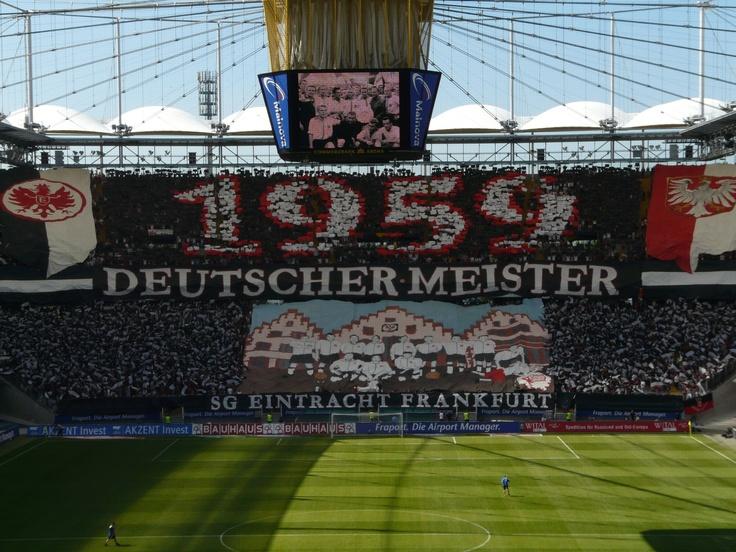 Meister 1959 Choreo Eintracht Frankfurt
