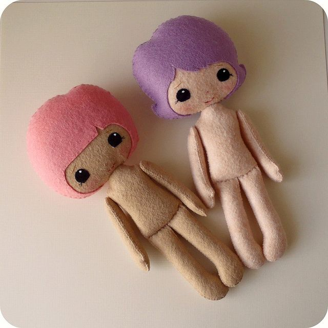 felt dolls                                                                                                                                                      More