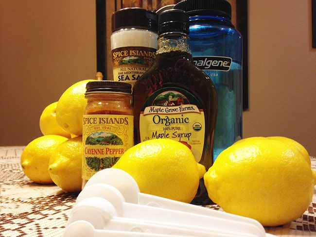 Beyonce Lemon Detox Diet Recipe - The Master Cleanse