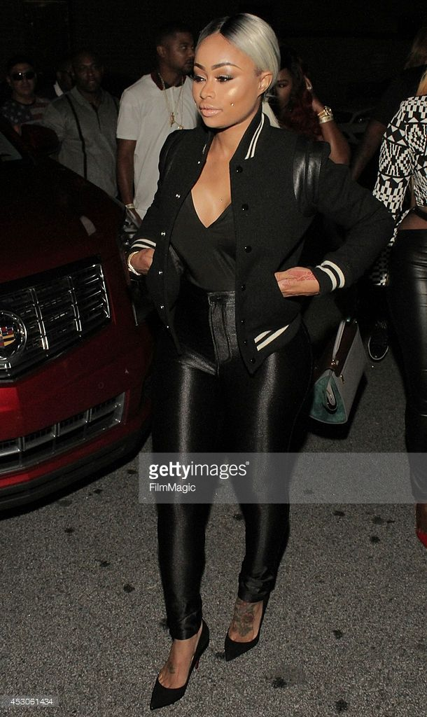 Blac Chyna attends the hair show weekend kick off party at Harlem Nights on August 1 2014 in...