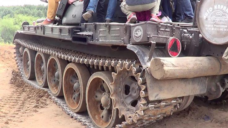 Drive a tank T - 55