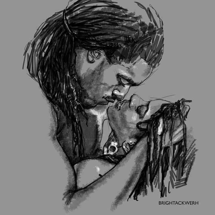 Myself Having Known This Type Of Love  Black Love Art -1916