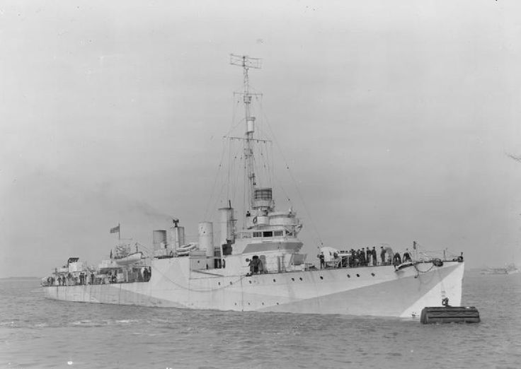 HMS Mansfield (G-76) a Town-class destroyer, the destroyer had a truly international career, for between December 1940 and March 1942; she was on loan to the exiled Royal Norwegian Navy. During this time, she raided a fish oil factory in German hands at Øksfjord near Hammerfest, Norway. Her landing party destroyed the factory's essential machinery, and attempted to capture the local quisling leader, but he escaped.