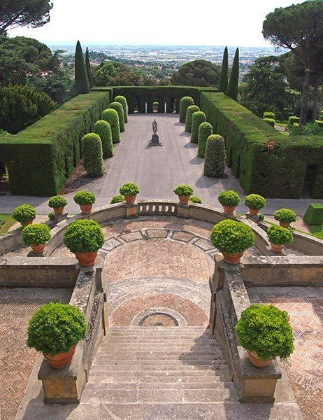 Best 190 Formal Gardens Images On Pinterest
