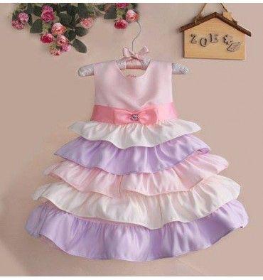 SARA Kids - Purple Candy - sadinashop.com  Dress atau gaun untuk bayi dan anak.