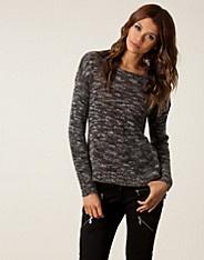 Lifa Knit Pullover - Selected Femme - Grå melange - Gensere - Klær - NELLY.COM Mote online