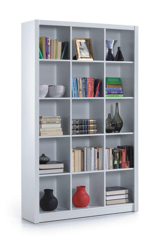 White Gloss Bookcase Office Furniture Shelf Triple Room Divider Shelves  Display. 22 best New England White Home Office Furniture  images on Pinterest