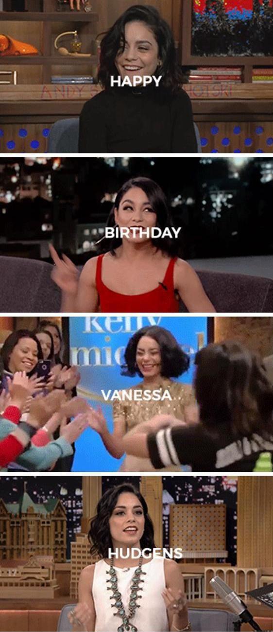 Happy 28th Birthday Vanessa Hudgens!!!