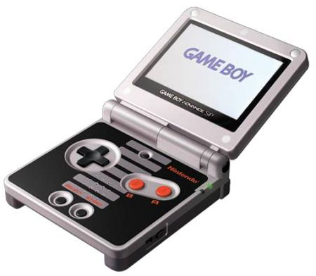 The best version of the Gameboy Advance SP, with Nintendo Entertainment System colours. Also known as GBA SP NES #retrogaming