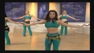Belly Dance Workout - Part 1 of 3, via YouTube.