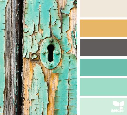 Natural or crumb cake, more mustard, basic gray, coastal cabana, pool party, soft sky  weathered hues