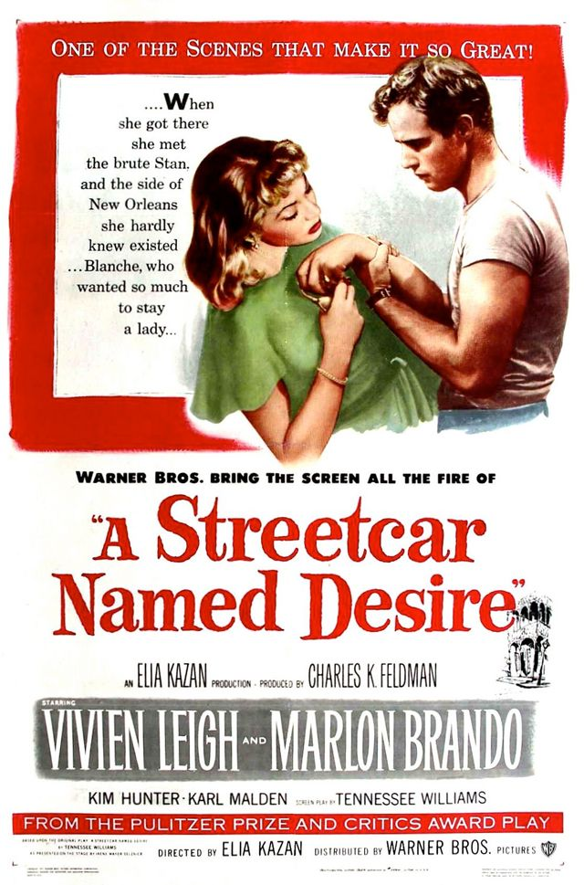 "Day 53: A film with a great quote in it. (Quote the quote). A Streetcar Named Desire (1951) ""Stella! Hey, Stella!"""