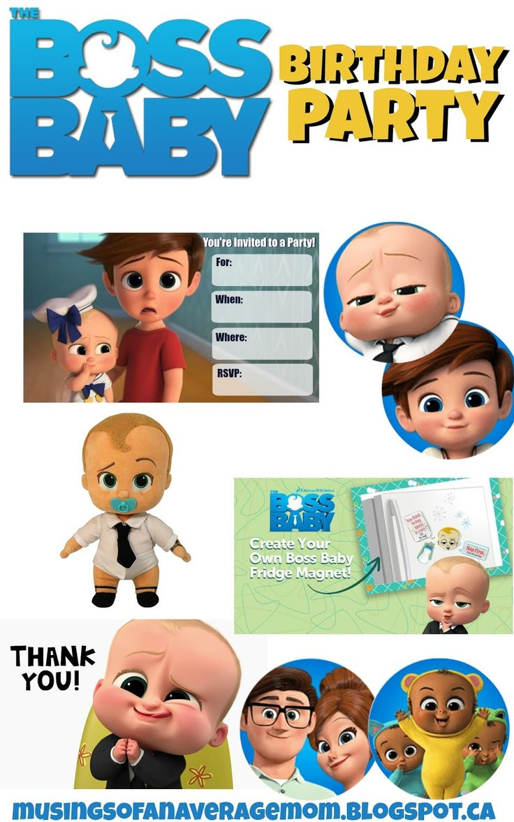 boss baby party ideas
