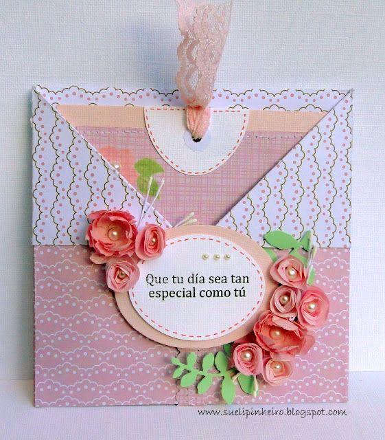Tarjeta de Sueli con Latina Crafter: Sellos en Español: