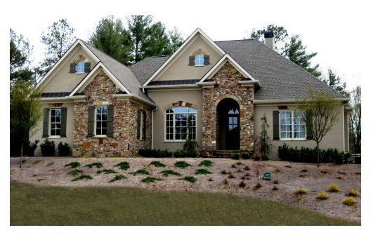 17 best images about stone and stucco remodel on for Stucco home plans