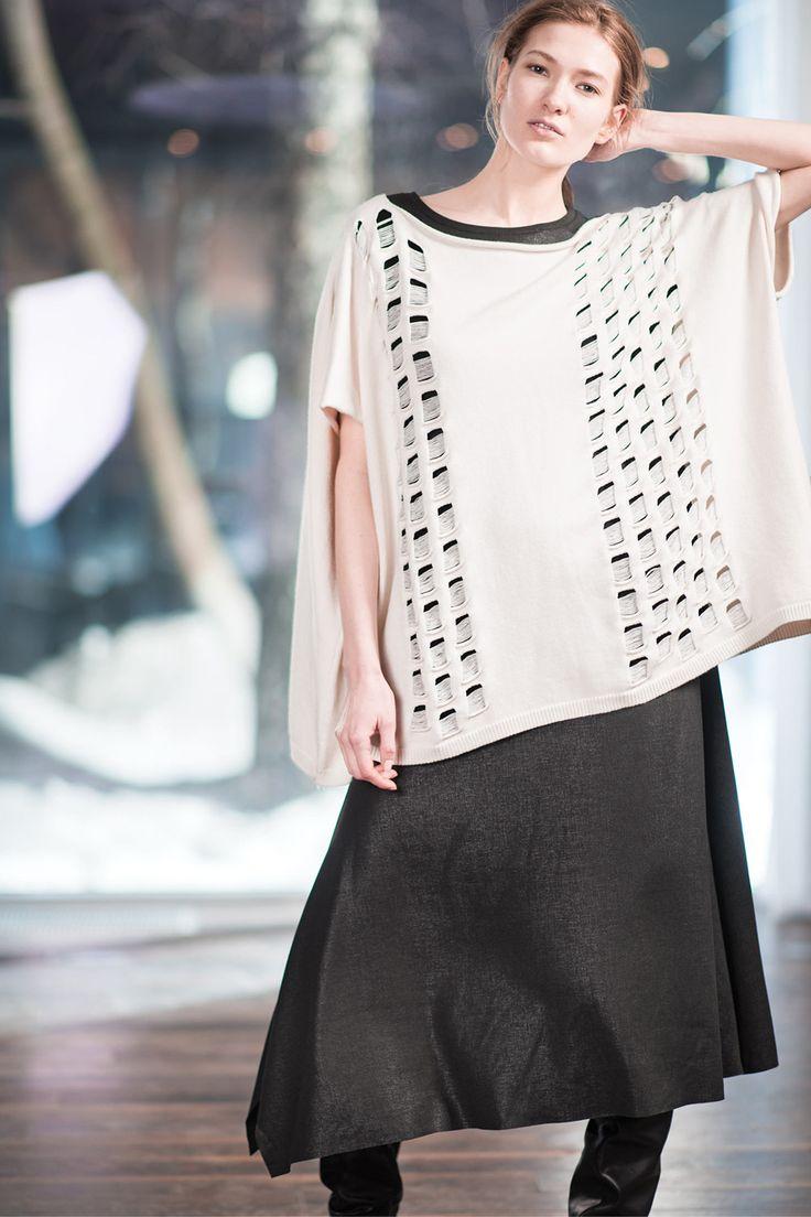 Купить Платье Угол-база, варёный трикотаж от Lesel (Лесель) дизайнер одежды
