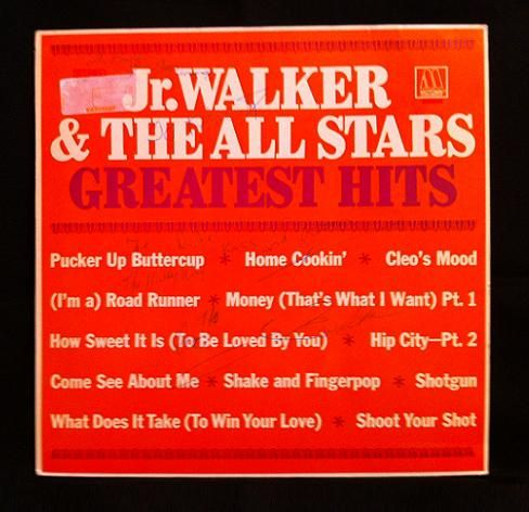 Nice Jr Walker Hand signed by Autry DeWalt Mixon Jr known by the stage name Junior Walker He was an American musician His group Jr Walker u The All Stars