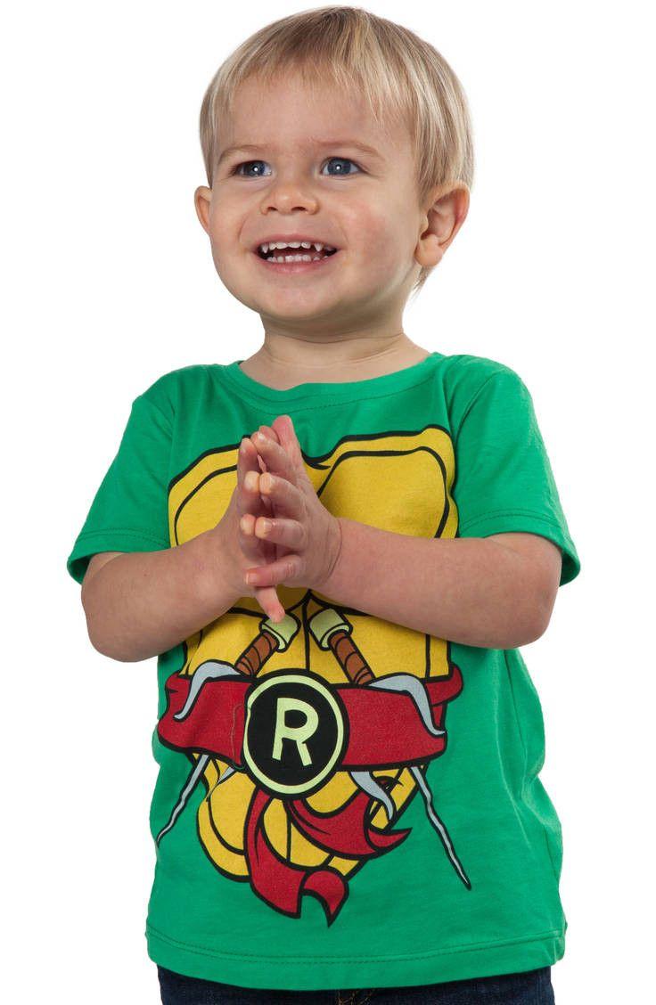 Kids Raphael TMNT Costume Shirt