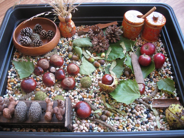 A lovely example of tray sensory play that is budget friendly and something to leave on a table to go back to for the babies starting to explore with their fine motor skills. C & L