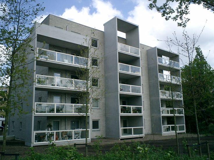 Bouwkundige uitwerking en begeleiding Hilversum Diependaal 4x15 appartementen incl parkeergarage