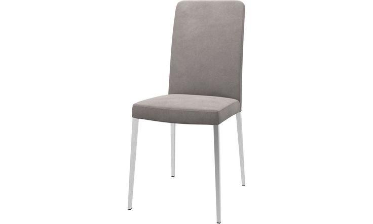 Καρέκλες τραπεζαρίας - καρέκλα Nico - Γκρι - Fabric