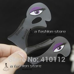 2pcs Cat Eyeliner Stencil Smokey Eye Stencil  Makeup Eyeliner Stencils Makeup Tools Free Shipping
